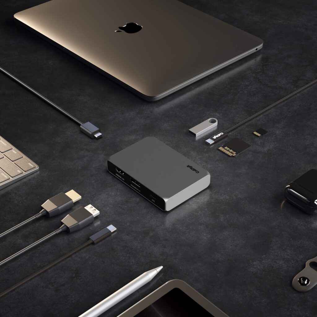 Ensemble de ports d'un Hubs pour MacBook